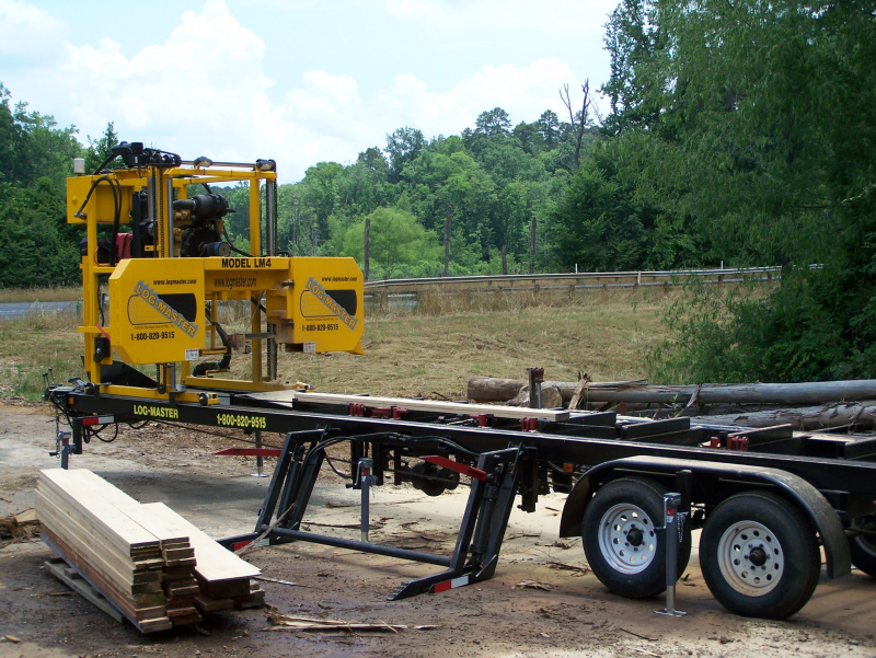 Portable Sawmill For Sale >> Lm4 Portable Sawmill Log Master Portable Saw Blade Manufacturer Inc