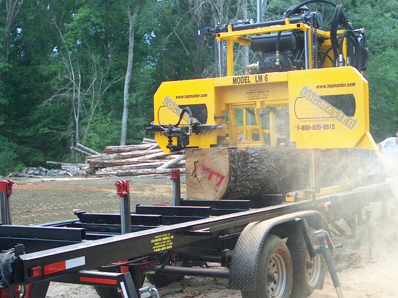 Lm6 Portable Sawmill Log Master Portable Saw Blade