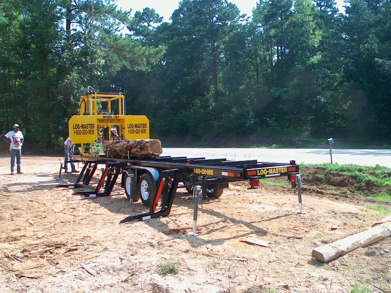 LM2 Portable Sawmill | Log Master Portable Saw Blade Manufacturer Inc